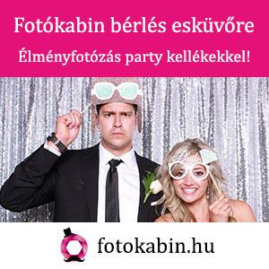 Fotókabin bérlés esküvőre