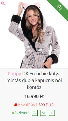 Poppy köntös - Poppywebshop.hu