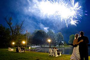 Esküvői virág, dekoráció, tűzijáték