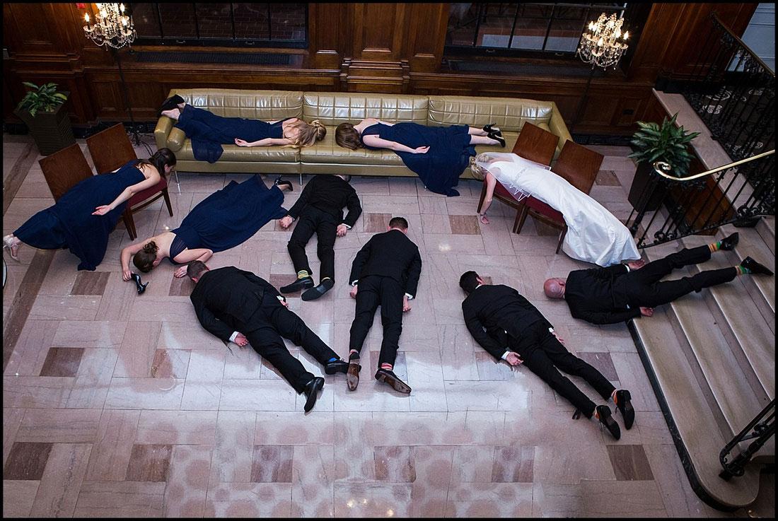 Planking az esküvőn