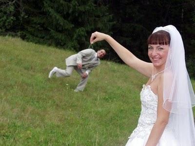 Vicces esküvői portré fotózási ötletek